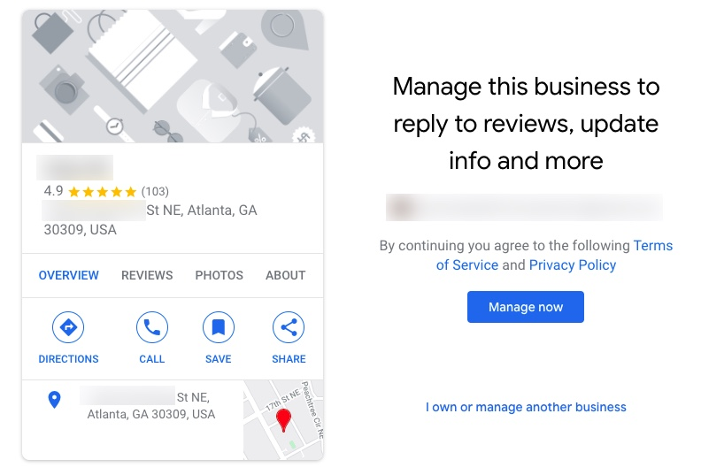 Is this Google Business Listing Verified?