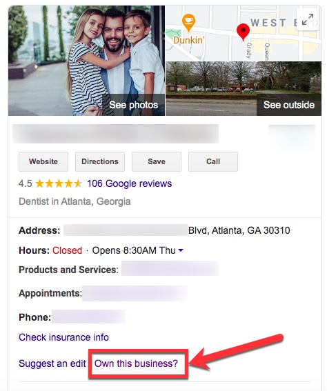 How Can I Tell if a Google Listing is Claimed or Verified?